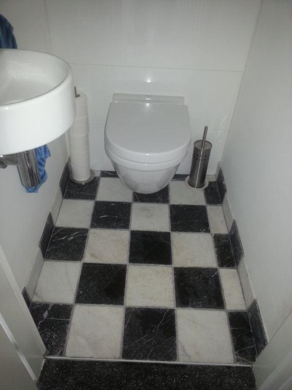 Bebo tegels tevreden klanten bebo tegels - Zwart wit toilet ...