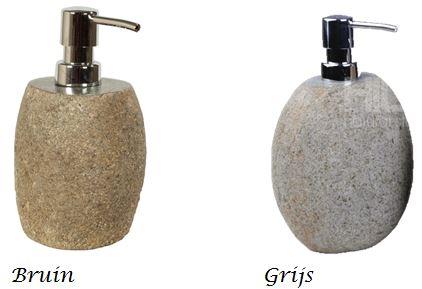 Zeeppompje steen